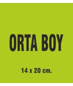 ORTA BOY 14X20 CM