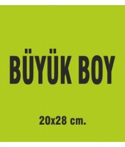 BÜYÜK BOY 20X28 CM