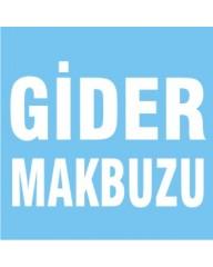 GİDER MAKBUZU